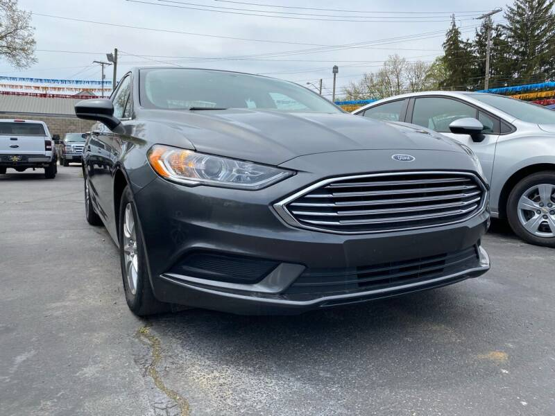 2018 Ford Fusion for sale at Auto Exchange in The Plains OH