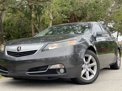 2012 Acura TL for sale at HIGH PERFORMANCE MOTORS in Hollywood FL