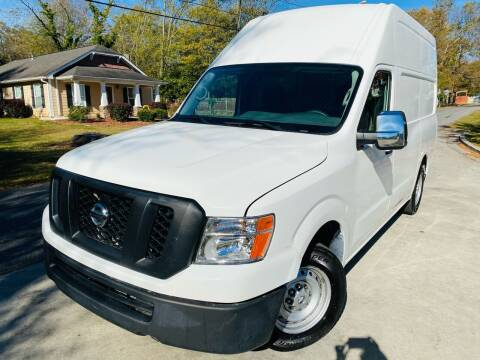 2016 Nissan NV Cargo for sale at Cobb Luxury Cars in Marietta GA