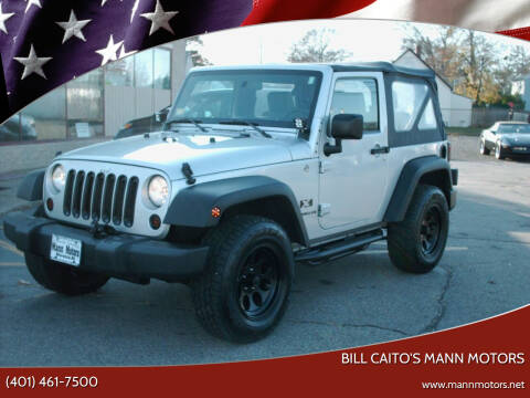 2008 Jeep Wrangler for sale at Bill Caito's Mann Motors in Warwick RI