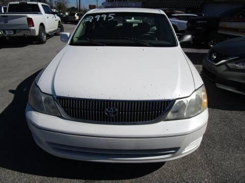 2000 Toyota Avalon for sale at DERIK HARE in Milton FL