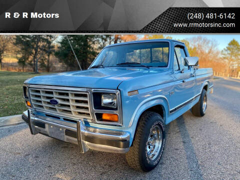 1984 Ford F-150 for sale at R & R Motors in Waterford MI