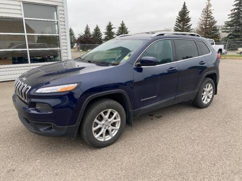 2016 Jeep Cherokee for sale at Platinum Car Brokers in Spearfish SD