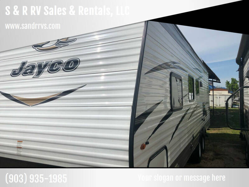 2018 SALE/RENT!!!!  JAYCO M26BH Jayflight for sale at S & R RV Sales & Rentals, LLC in Marshall TX