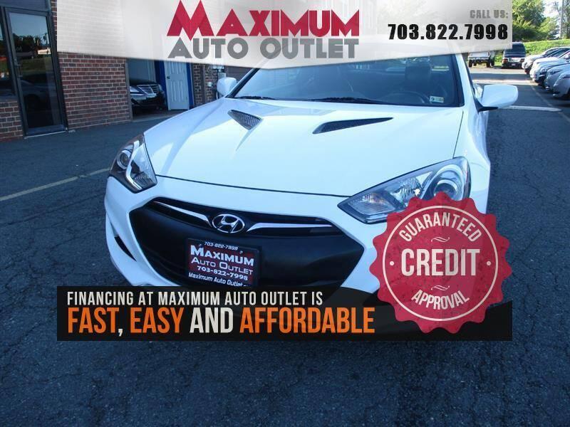 2014 Hyundai Genesis Coupe for sale in Manassas, VA