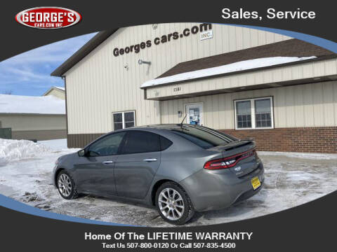 2013 Dodge Dart for sale at GEORGE'S CARS.COM INC in Waseca MN