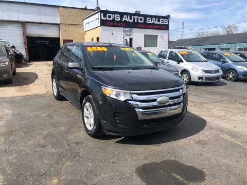 2013 Ford Edge for sale at Lo's Auto Sales in Cincinnati OH