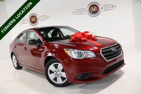 2016 Subaru Legacy for sale at Unlimited Motors in Fishers IN