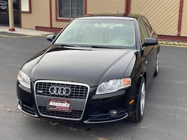 2008 Audi A4 for sale at Anamaks Motors LLC in Hudson NH