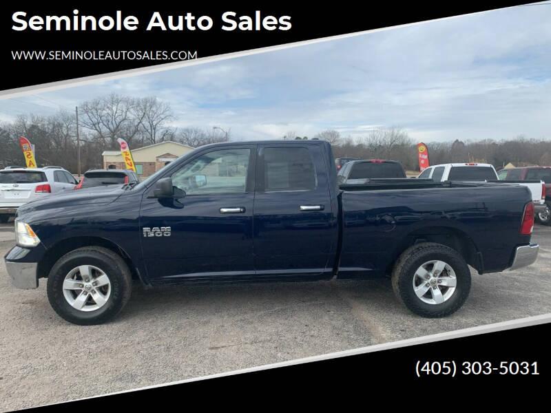 2013 RAM Ram Pickup 1500 for sale at Seminole Auto Sales in Seminole OK