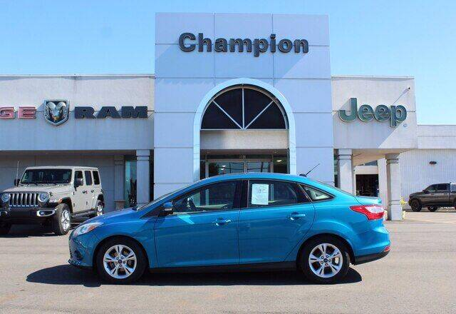 2014 Ford Focus for sale at Champion Chevrolet in Athens AL