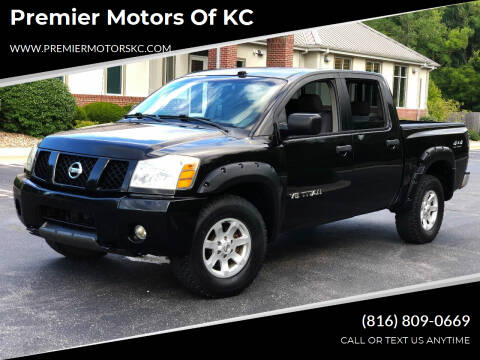 2005 Nissan Titan for sale at Premier Motors of KC in Kansas City MO