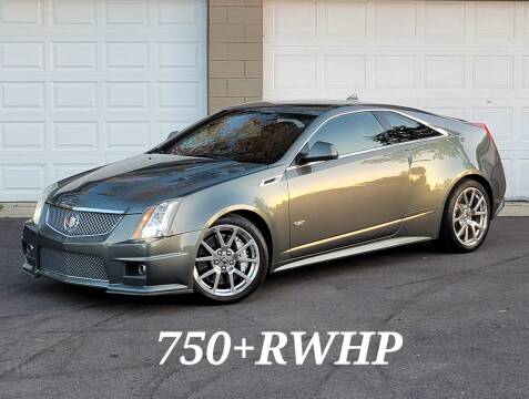2011 Cadillac CTS-V for sale at Riverfront Auto Sales in Middletown OH