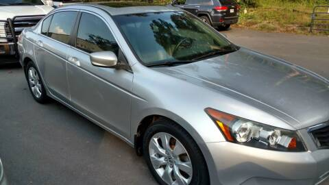 2008 Honda Accord for sale at Buddy's Auto Inc in Pendleton SC