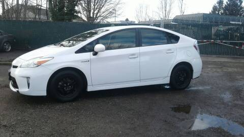 2012 Toyota Prius for sale at Car Guys in Kent WA