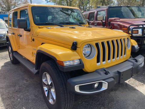 2020 Jeep Wrangler for sale at The Peoples Car Company in Jacksonville FL