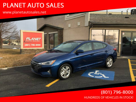2020 Hyundai Elantra for sale at PLANET AUTO SALES in Lindon UT