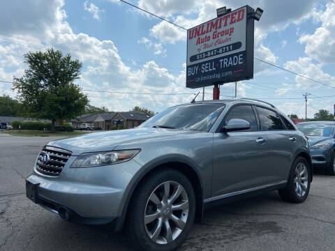2006 Infiniti FX35 for sale at Unlimited Auto Group in West Chester OH