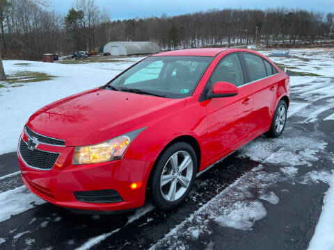 2014 Chevrolet Cruze for sale at THATCHER AUTO SALES in Export PA