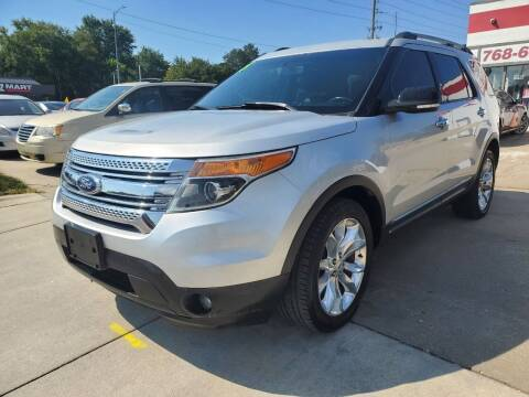 2015 Ford Explorer for sale at Quallys Auto Sales in Olathe KS