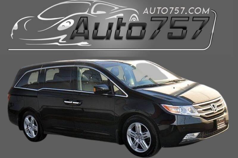 2012 Honda Odyssey for sale at Auto 757 in Norfolk VA