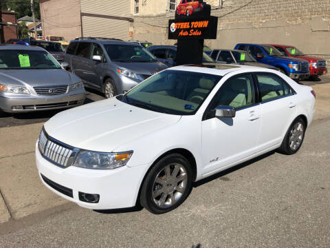 2007 Lincoln MKZ for sale at STEEL TOWN PRE OWNED AUTO SALES in Weirton WV