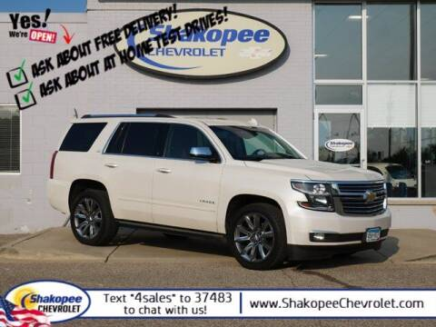 2015 Chevrolet Tahoe for sale at SHAKOPEE CHEVROLET in Shakopee MN