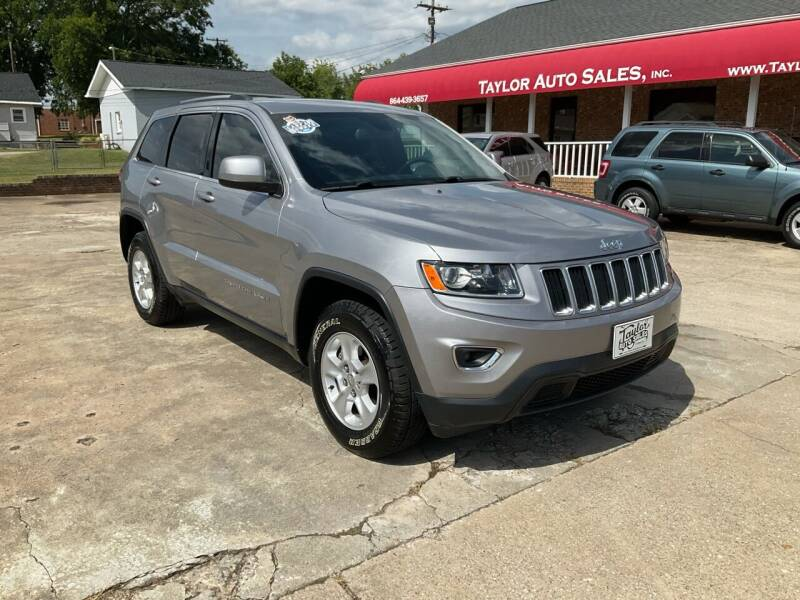 2016 Jeep Grand Cherokee for sale at Taylor Auto Sales Inc in Lyman SC