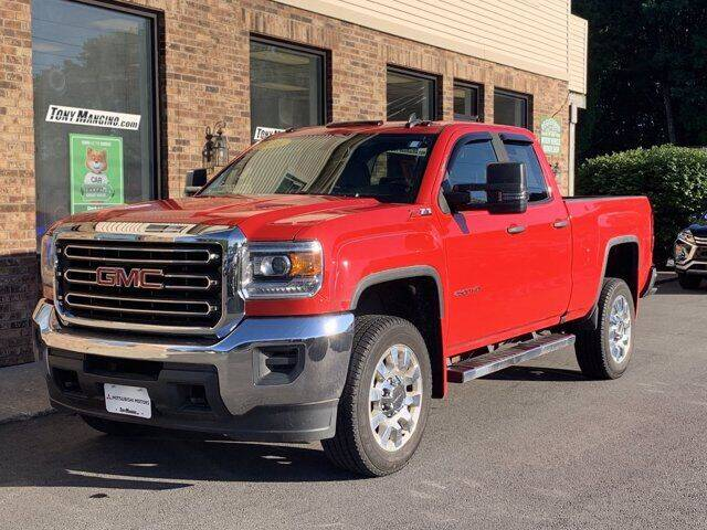 2016 GMC Sierra 2500HD for sale at The King of Credit in Clifton Park NY