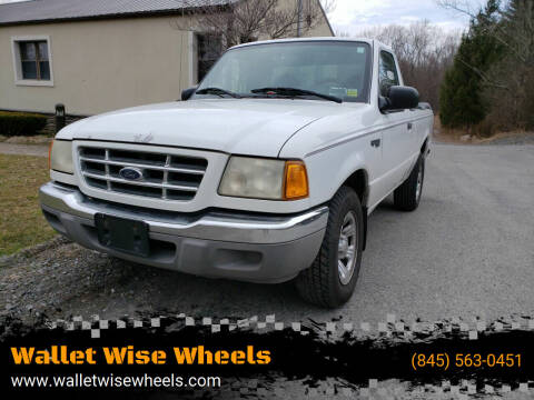 2001 Ford Ranger for sale at Wallet Wise Wheels in Montgomery NY
