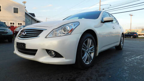 2013 Infiniti G37 Sedan for sale at Action Automotive Service LLC in Hudson NY