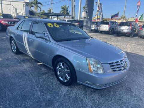 2006 Cadillac DTS for sale at Brascar Auto Sales in Pompano Beach FL