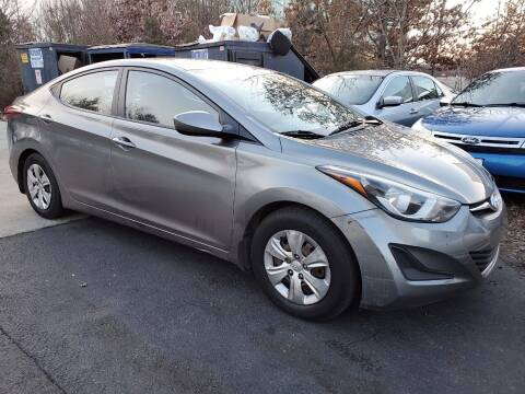 2016 Hyundai Elantra for sale at Dreams Auto Group LLC in Sterling VA
