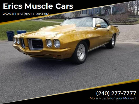 1970 Pontiac Le Mans for sale at Erics Muscle Cars in Clarksburg MD