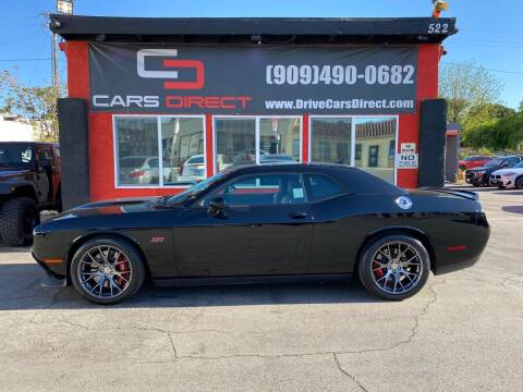 2017 Dodge Challenger for sale at Cars Direct in Ontario CA