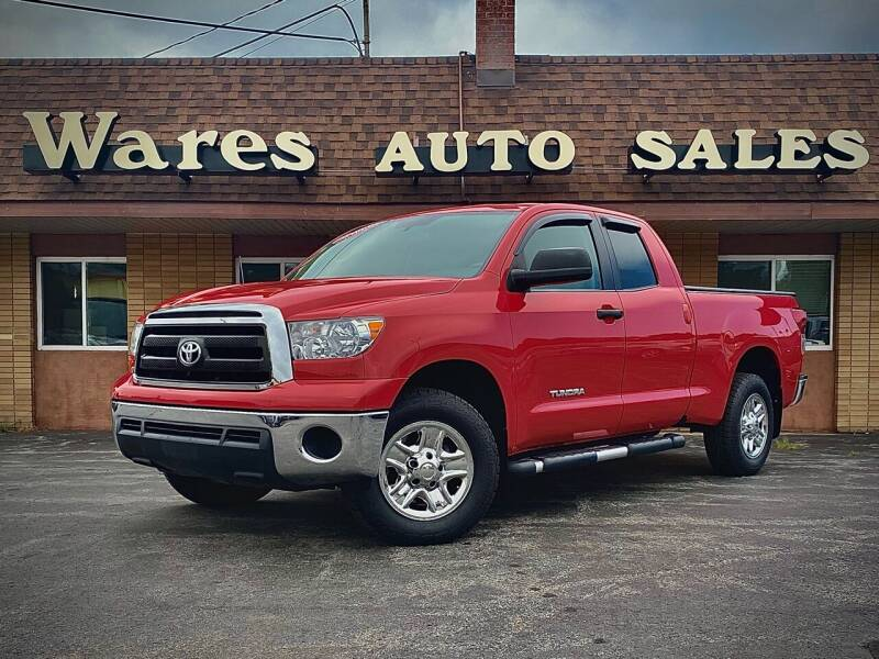 2011 Toyota Tundra for sale at Wares Auto Sales INC in Traverse City MI