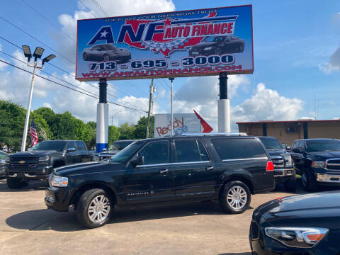 2011 Lincoln Navigator L for sale at ANF AUTO FINANCE in Houston TX