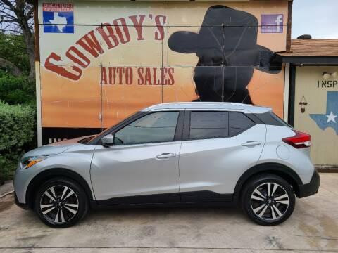 2019 Nissan Kicks for sale at Cowboy's Auto Sales in San Antonio TX