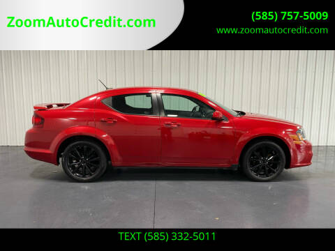 2014 Dodge Avenger for sale at ZoomAutoCredit.com in Elba NY