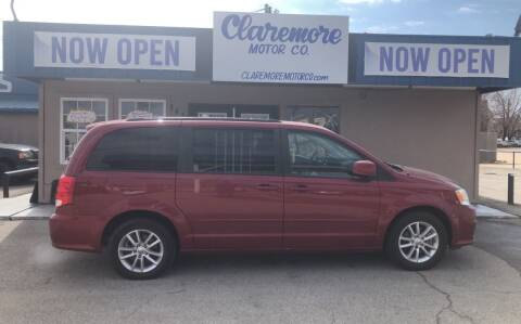 2015 Dodge Grand Caravan for sale at Claremore Motor Company in Claremore OK