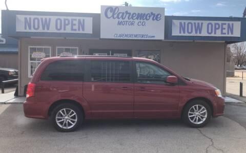 2015 Dodge Grand Caravan for sale at Claremore Motor Company in Claremore OK