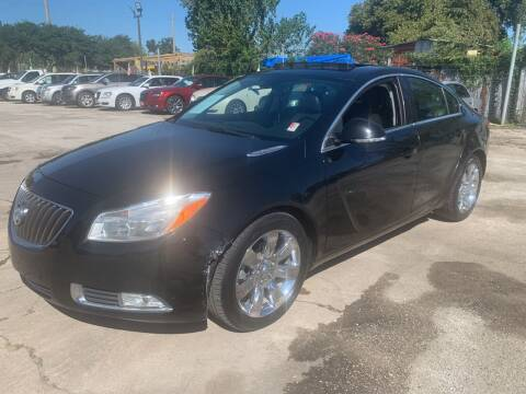 2012 Buick Regal for sale at FAIR DEAL AUTO SALES INC in Houston TX