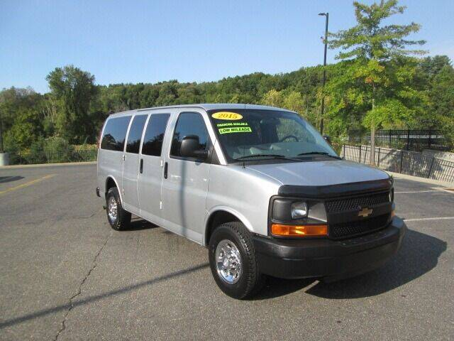 2015 Chevrolet Express Passenger for sale at Tri Town Truck Sales LLC in Watertown CT