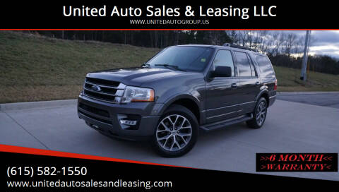 2016 Ford Expedition for sale at United Auto Sales & Leasing LLC in La Vergne TN