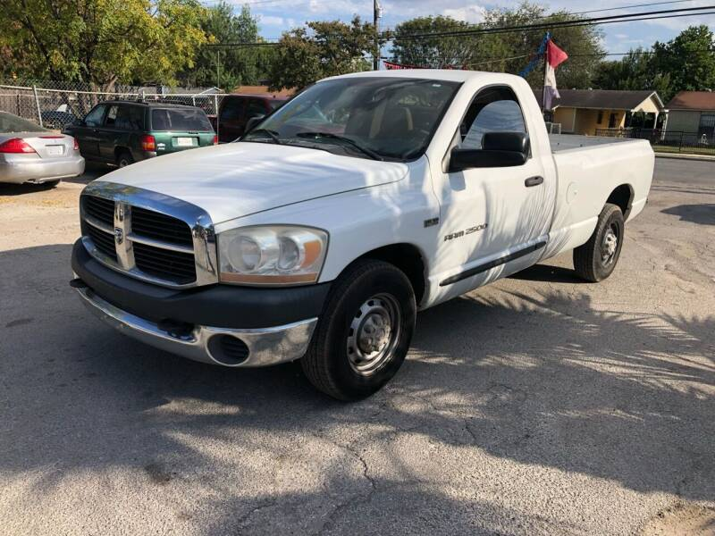 2006 Dodge Ram Pickup 2500 for sale at Approved Auto Sales in San Antonio TX
