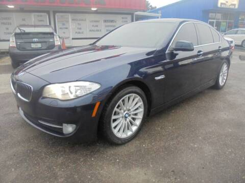 2011 BMW 5 Series for sale at Automax Wholesale Group LLC in Tampa FL