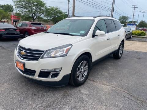 2015 Chevrolet Traverse for sale at TKP Auto Sales in Eastlake OH
