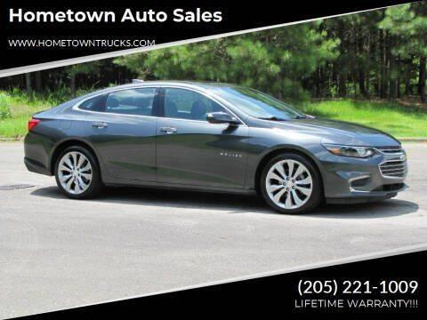 2017 Chevrolet Malibu for sale at Hometown Auto Sales - Cars in Jasper AL