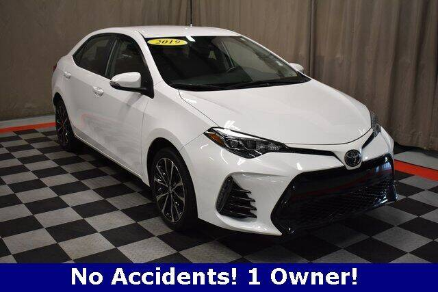 2019 Toyota Corolla for sale at Vorderman Imports in Fort Wayne IN