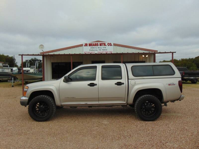 2005 GMC Canyon for sale at Jacky Mears Motor Co in Cleburne TX